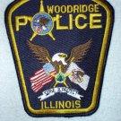 Woodridge Police Department patch