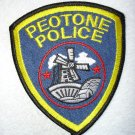 Peotone Police Department patch