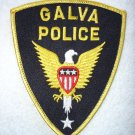 Galva Police Department patch