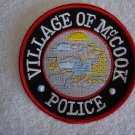 McCook Police Department patch