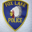 Fox Lake Police Department patch