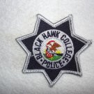 Black Hawk College Police Department patch