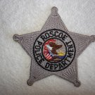 Roscoe Police Department patch