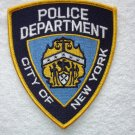 New York Police Department patch