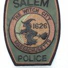 Salem Police Department patch