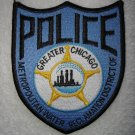 Metropolitan Water Reclamation District of Greater Chicago Police patch