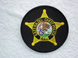 East Hazel Crest Police Department patch
