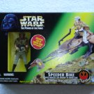 Star Wars POTF Speeder Bike with Princess Leia Organa