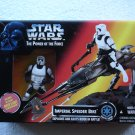 Star Wars POTF Imperial Speeder Bike