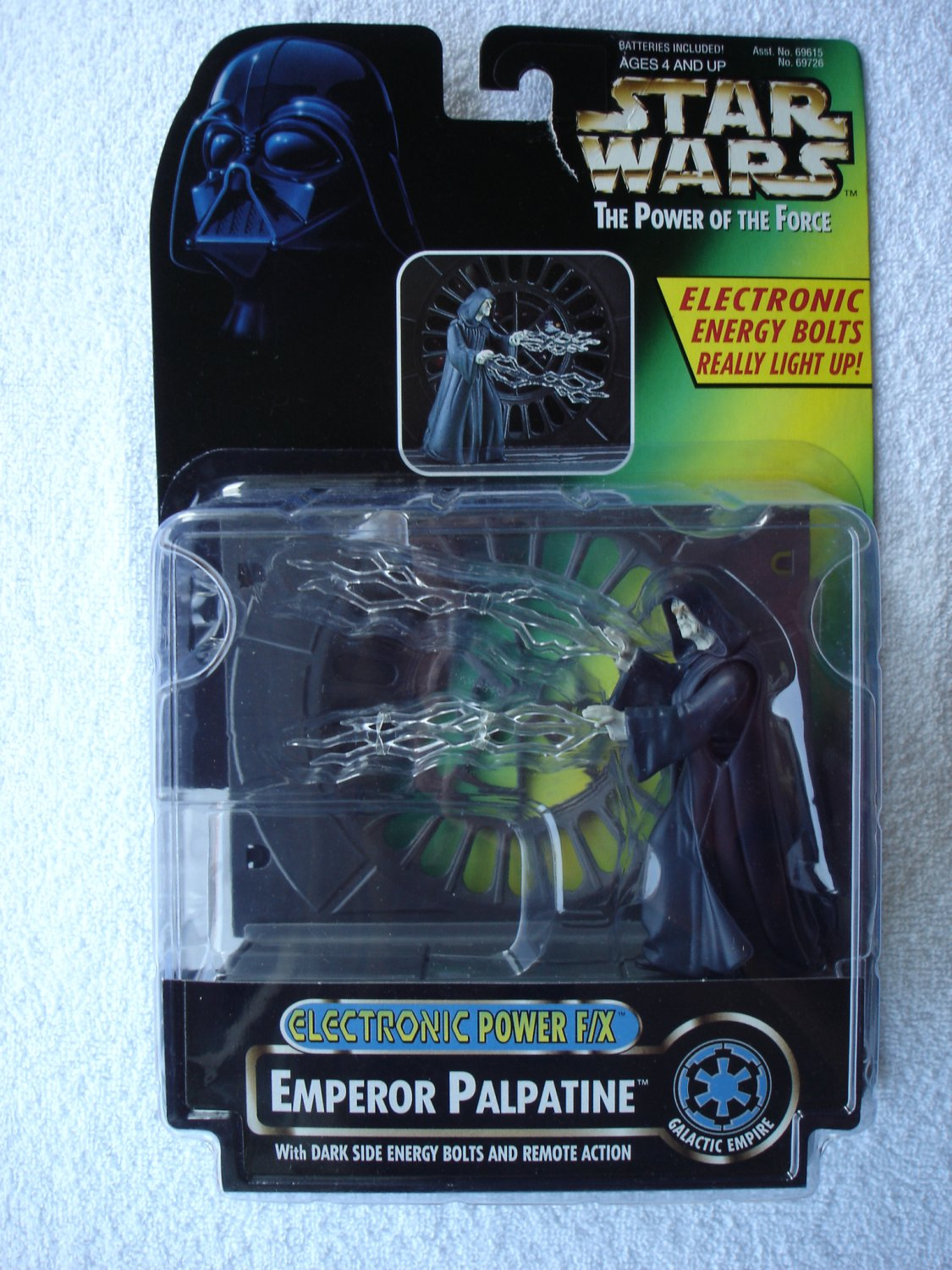 Star Wars POTF Electronic Power F/X Emperor Palpatine
