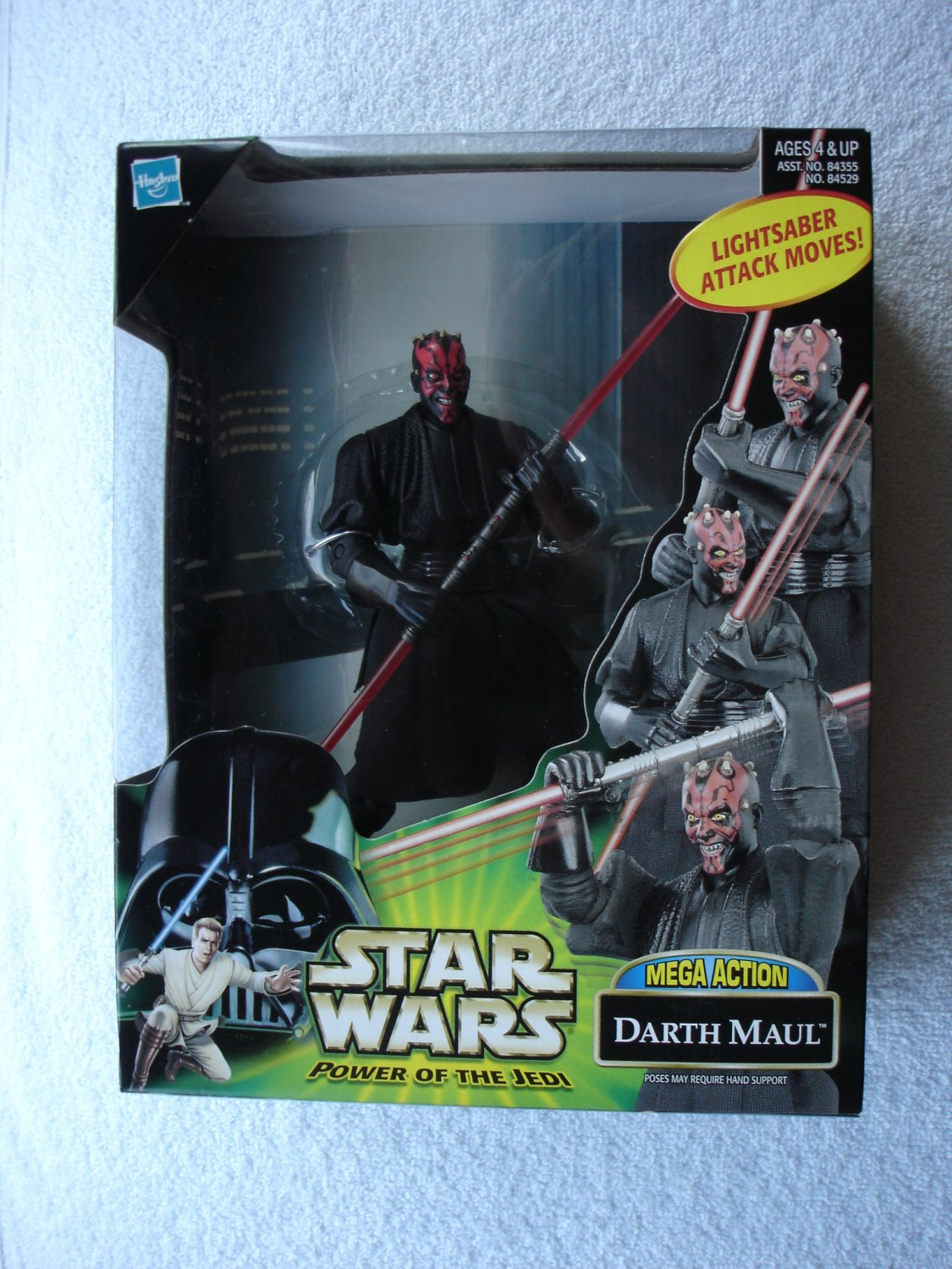 Star Wars POTJ Deluxe Mega Action Darth Maul