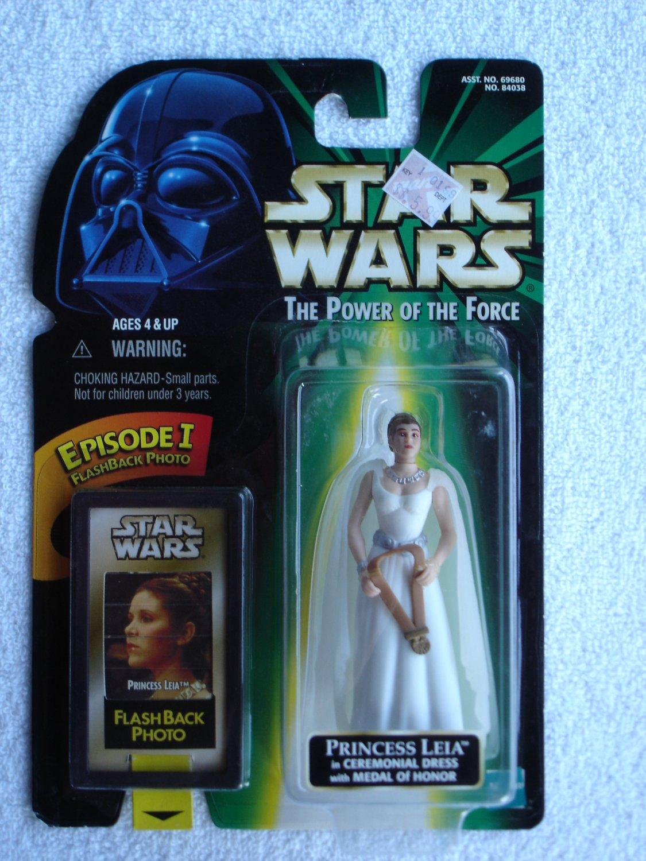 Star Wars POTF Flashback Photo Princess Leia