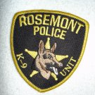 Rosemont Police-Fire Public Safety patch