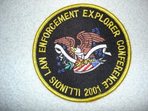 Illinois Law Enforcement Explorer Conference patch