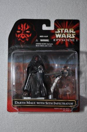 Star Wars TPM Darth Maul with Sith Infiltrator