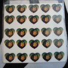 Bob Marley Nail Decals Set of 25 Decals