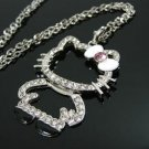 White Hello Kitty Full Body Necklace