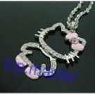 Pink Hello Kitty Full Body Necklace