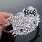Hello Kitty Black Bow Cuff