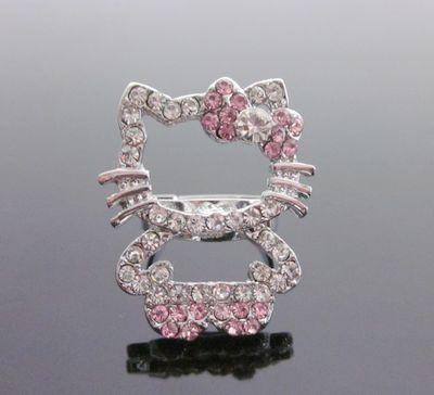 Pink Hello Kitty Full Body Ring