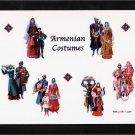 Armenian costumes plaque - free sh/h