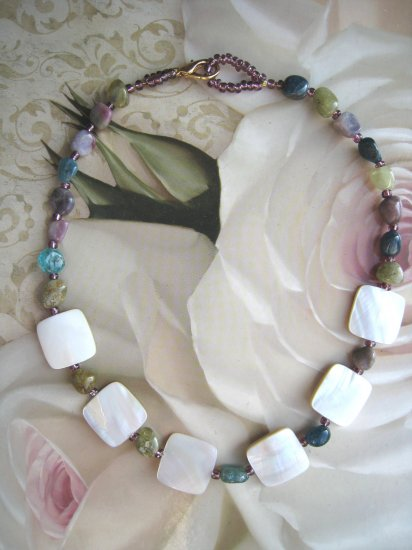 TOURMALINE and MOTHER OF PEARL by Lucine - FREE sh/h