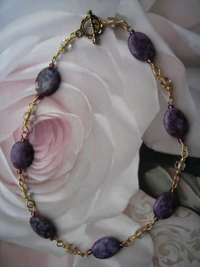 Lepedite necklace by Lucine - FREE sh/h