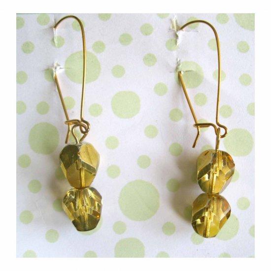Gold earrings fashion earrings