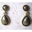 Grey fashion drop earrings - 1539e