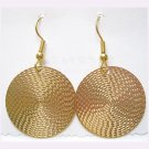 Gold fashion drop earrings, Jewelry