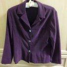 Purple blazer preloved LIZZATTI size medium adult clothing