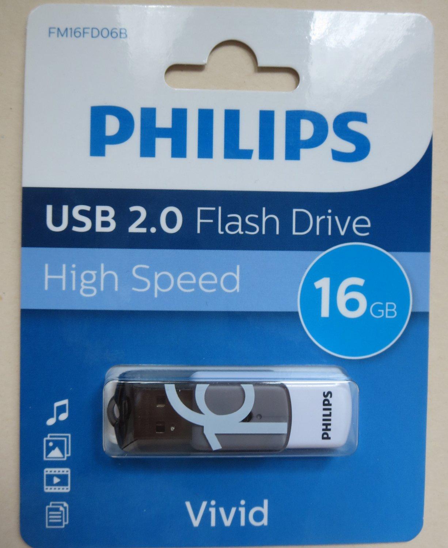 Philips 16 gb High speed flash drive USB 2.0 - High Speed