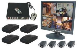 4 Channel Wireless DVR Surveillance System