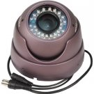 Vandal-Resistant IR Day/Night High Resolution Dome Camera -550 TV Lines