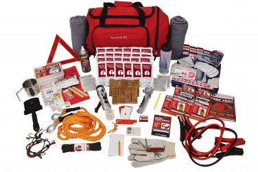Safety and Survival Family Road Kit