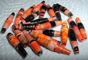 "Serendipity Paper Beads ""Peach Parfait"""