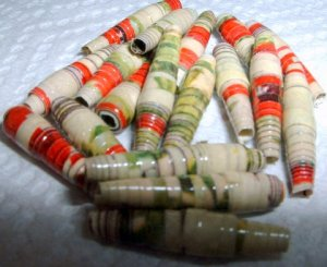 """Serendipity Paper Beads """"Florence"""""""