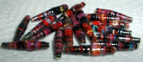 """Serendipity Paper Beads """"Party Girl"""""""