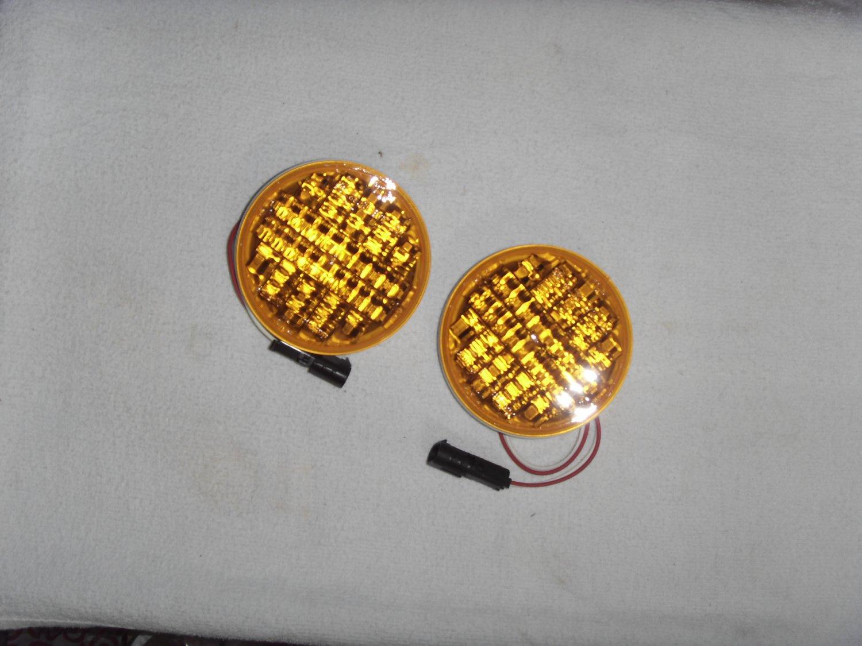 "New* 4"" LED Amber Turn lamps"