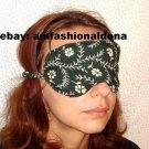 --Soft Padded  Lovely Green Sleep Mask--