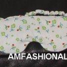 --SOFT LOVELY PADDED WHITE SLEEP MASK  blindfolds travel--