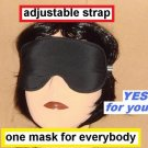 --SOFT SLEEP MASK for EVERYBODY     ADJUSTABLE STRAP--
