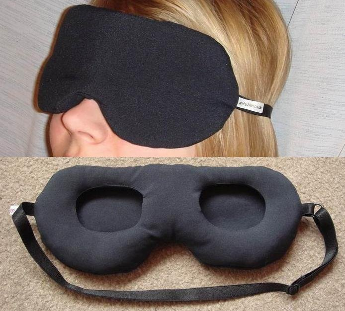 --Eye Shade Relax Mask without touching your eyes !!!--