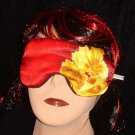 --wonderful Sleep Eye Masks ,big yellow flower, blindfolds (made by amfashion)--