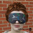 --EIFEL PARIS SOFT PADDED EYE / SLEEP MASK blindfolds travelrelax meditation--