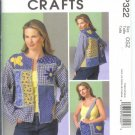 McCall's Crafts Sewing Pattern MP322 - Misses' Chenille Jacket and Tote