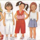 Butterick Sewing Pattern 6615 - Children's Top, Pants, Shorts (2-5, 6-8)