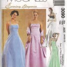 "McCall's ""Evening Elegance"" Sewing Pattern 3090 - Misses' Lined Dress and Stole (4-10)"