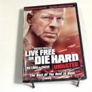 Live Free or Die Hard (2007) NEW DVD UNRATED