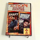 Shaft (1971) Shaft's Big Score! (1972) NEW DVD